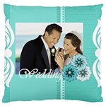 wedding - Large Cushion Case (Two Sides)