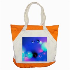 Love In Action, Pink, Purple, Blue Heartbeat 10000x7500 Accent Tote Bag by DianeClancy