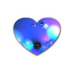 Love In Action, Pink, Purple, Blue Heartbeat 10000x7500 Drink Coasters (heart) by DianeClancy