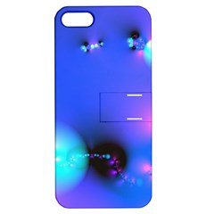 Love In Action, Pink, Purple, Blue Heartbeat 10000x7500 Apple Iphone 5 Hardshell Case With Stand by DianeClancy