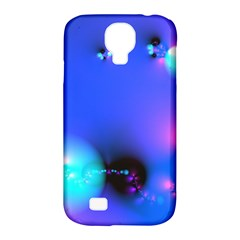 Love In Action, Pink, Purple, Blue Heartbeat 10000x7500 Samsung Galaxy S4 Classic Hardshell Case (pc+silicone) by DianeClancy