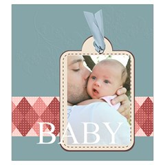 Baby By Baby   Drawstring Pouch (large)   7ys57i46y24b   Www Artscow Com Back
