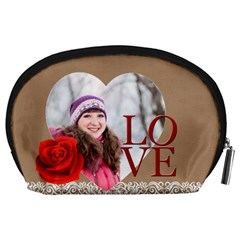 Love By Ki Ki   Accessory Pouch (large)   3e8bozl1vy4q   Www Artscow Com Back