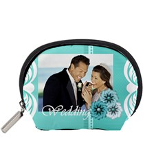Wedding By Wedding   Accessory Pouch (small)   Be4oq2wbu5nj   Www Artscow Com Front