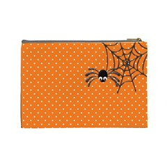 Spooky Lg Cosmetic Bag By Lisa Minor   Cosmetic Bag (large)   Z4st0yu76gay   Www Artscow Com Back