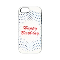 Halftone Circle With Squares Apple Iphone 5 Classic Hardshell Case (pc+silicone) by rizovdesign