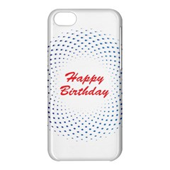 Halftone Circle With Squares Apple Iphone 5c Hardshell Case by rizovdesign