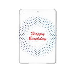 Halftone Circle With Squares Apple Ipad Mini 2 Hardshell Case by rizovdesign