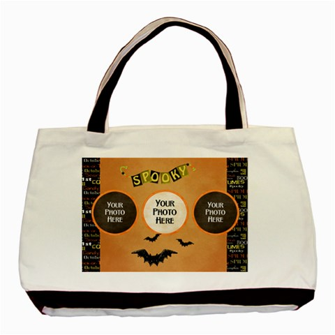 Spooky Tote By Lisa Minor   Basic Tote Bag   6gjsajy2ty6s   Www Artscow Com Front