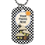 Spooky Dog Tag - Dog Tag (One Side)