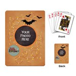 Spooky Playing Cards - Playing Cards Single Design