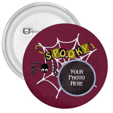 Spooky Button By Lisa Minor   3  Button   7uw00otdc8f7   Www Artscow Com Front