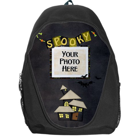 Spooky Backpack By Lisa Minor   Backpack Bag   Oute1yxz7ip1   Www Artscow Com Front