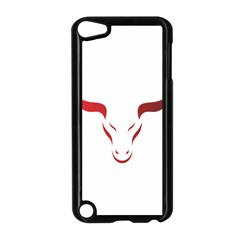 Stylized Symbol Red Bull Icon Design Apple Ipod Touch 5 Case (black) by rizovdesign