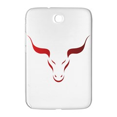 Stylized Symbol Red Bull Icon Design Samsung Galaxy Note 8 0 N5100 Hardshell Case  by rizovdesign