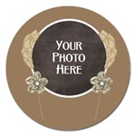 Autumn s Pleasure Magnet - Magnet 5  (Round)