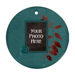 Ode to Autumn Ornament - Ornament (Round)