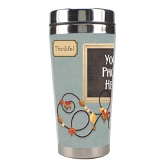 Ode To Autumn Travel Mug By Lisa Minor   Stainless Steel Travel Tumbler   Hk12xidouaa5   Www Artscow Com Left