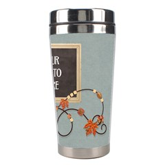 Ode To Autumn Travel Mug By Lisa Minor   Stainless Steel Travel Tumbler   Hk12xidouaa5   Www Artscow Com Right