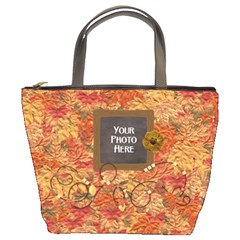 Ode To Autumn Bucket Bag By Lisa Minor   Bucket Bag   Ogfgd51kz5jb   Www Artscow Com Front