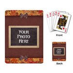 Ode to Autumn Playing Cards - Playing Cards Single Design