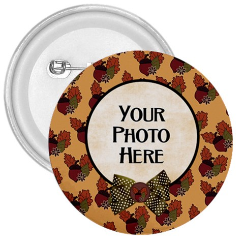 Ode To Autumn Button By Lisa Minor Front