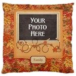 Ode to Autumn Cushion - Large Cushion Case (One Side)