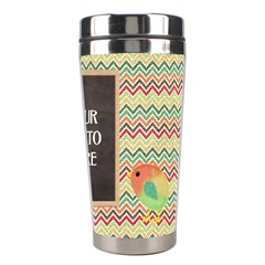 Lively Travel Tumbler By Lisa Minor   Stainless Steel Travel Tumbler   Roif2i0l3wax   Www Artscow Com Right