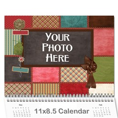 2015 Calender Mix By Lisa Minor   Wall Calendar 11  X 8 5  (12 Months)   Yofe1menszkq   Www Artscow Com Cover