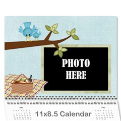 2015 At The Park Calendar By Lisa Minor   Wall Calendar 11  X 8 5  (12 Months)   Ay7wpm23frc4   Www Artscow Com Cover