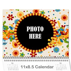 2015 Celebrate Calendar By Lisa Minor   Wall Calendar 11  X 8 5  (12 Months)   0ky37jw4bcwx   Www Artscow Com Cover
