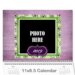2015 Lavender Essentials Calendar By Lisa Minor   Wall Calendar 11  X 8 5  (12 Months)   7gzpdfg36tjm   Www Artscow Com Cover