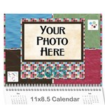 2015 Bloop Bleep Calendar - Wall Calendar 11  x 8.5  (12-Months)