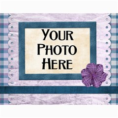2015 Lavender Rain Calendar By Lisa Minor   Wall Calendar 11  X 8 5  (12 Months)   Cx9woopxmbjb   Www Artscow Com Month