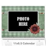 2015 Quilted Calendar 1 - Wall Calendar 11  x 8.5  (12-Months)