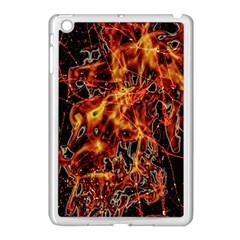 On Fire Apple Ipad Mini Case (white) by dflcprints