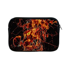 On Fire Apple Ipad Mini Zippered Sleeve by dflcprints