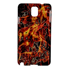 On Fire Samsung Galaxy Note 3 N9005 Hardshell Case by dflcprints
