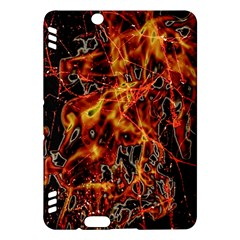 On Fire Kindle Fire Hdx 7  Hardshell Case