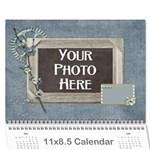 2015 My Blue Inspiration Calendar - Wall Calendar 11  x 8.5  (12-Months)