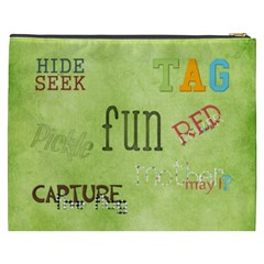 May I ? Xxxl Cosmetic Bag By Lisa Minor   Cosmetic Bag (xxxl)   W2fcs948vzdp   Www Artscow Com Back