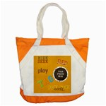 May I? Tote - Accent Tote Bag