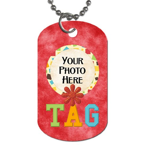 May I? Dog Tag By Lisa Minor   Dog Tag (one Side)   81u8ivtc80o4   Www Artscow Com Front
