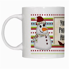Christmas Dazzle Mug By Lisa Minor   White Mug   Kwzcfe7r790p   Www Artscow Com Left