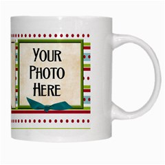 Christmas Dazzle Mug By Lisa Minor   White Mug   Kwzcfe7r790p   Www Artscow Com Right