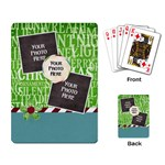Christmas Dazzle Playing Cards 1 - Playing Cards Single Design