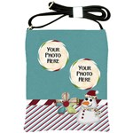 Christmas Dazzle Sling Bag - Shoulder Sling Bag