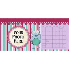 2015 Monster Party 11x5 Calendar By Lisa Minor   Desktop Calendar 11  X 5    87mx28nsn83f   Www Artscow Com Jan 2015