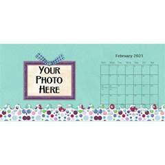2015 Monster Party 11x5 Calendar By Lisa Minor   Desktop Calendar 11  X 5    87mx28nsn83f   Www Artscow Com Feb 2015