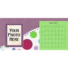 2015 Monster Party 11x5 Calendar By Lisa Minor   Desktop Calendar 11  X 5    87mx28nsn83f   Www Artscow Com Apr 2015